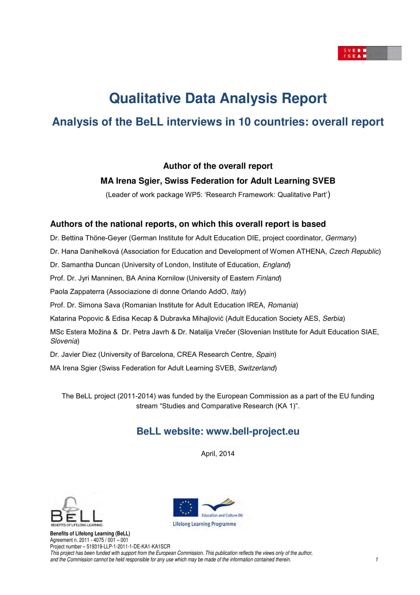 10 Data Analysis Report Examples - Pdf | Examples In Analytical Report Template