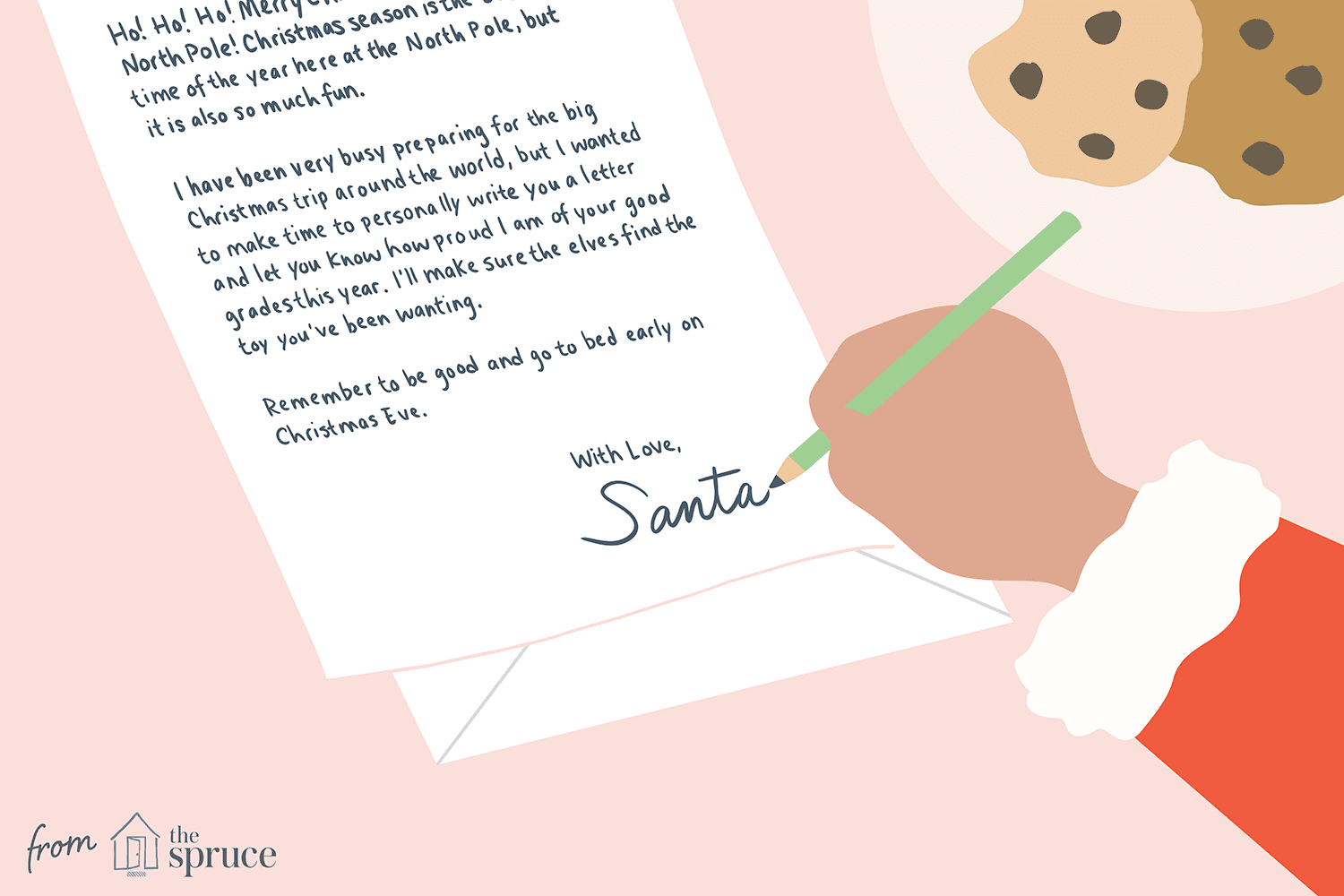 17 Free Letter From Santa Templates With Regard To Santa Letter Template Word
