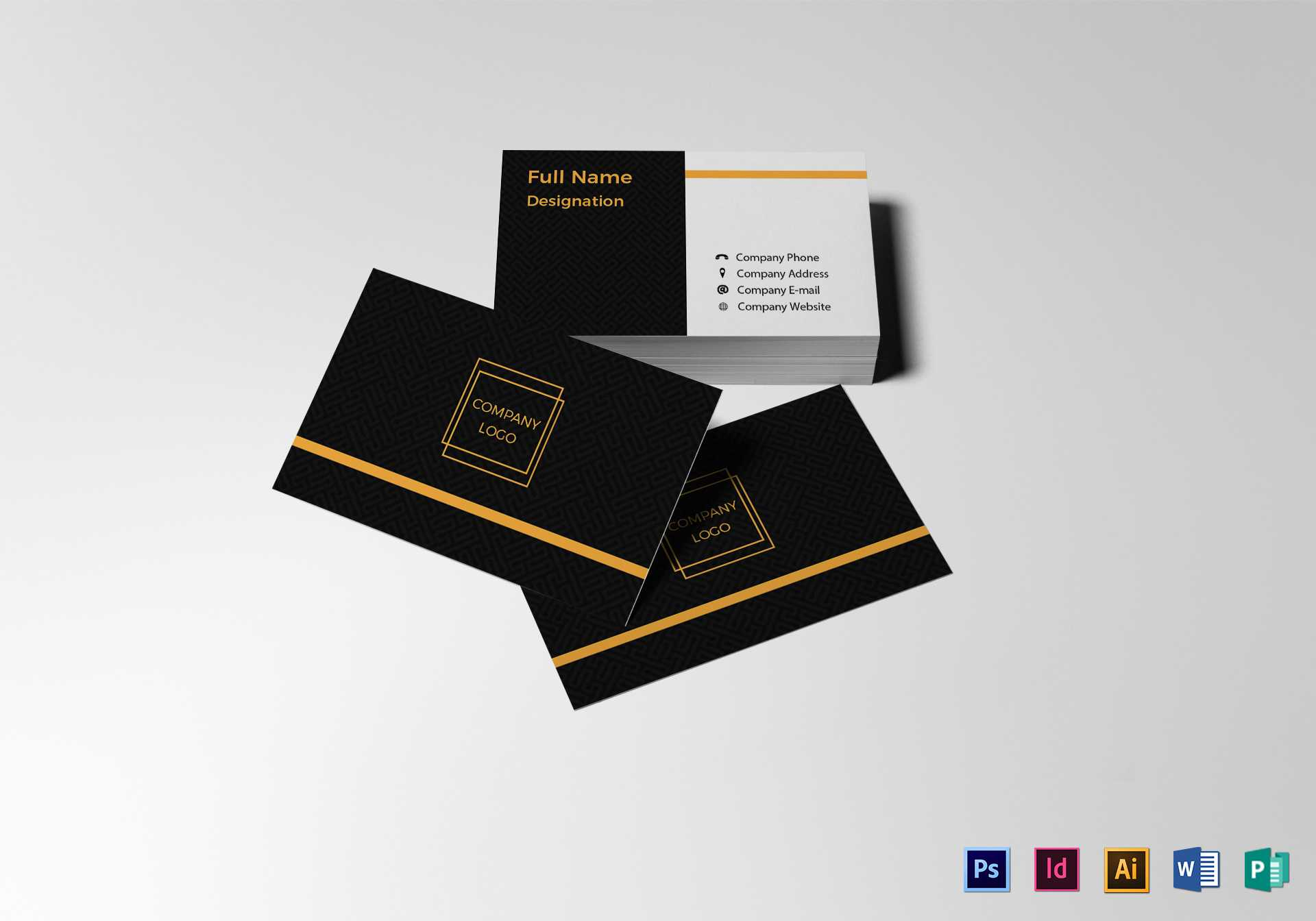 Blank Business Card Template With Blank Business Card Template Psd