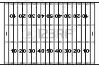 Blank Football Field Template | Free Download On Clipartmag inside Blank Football Field Template