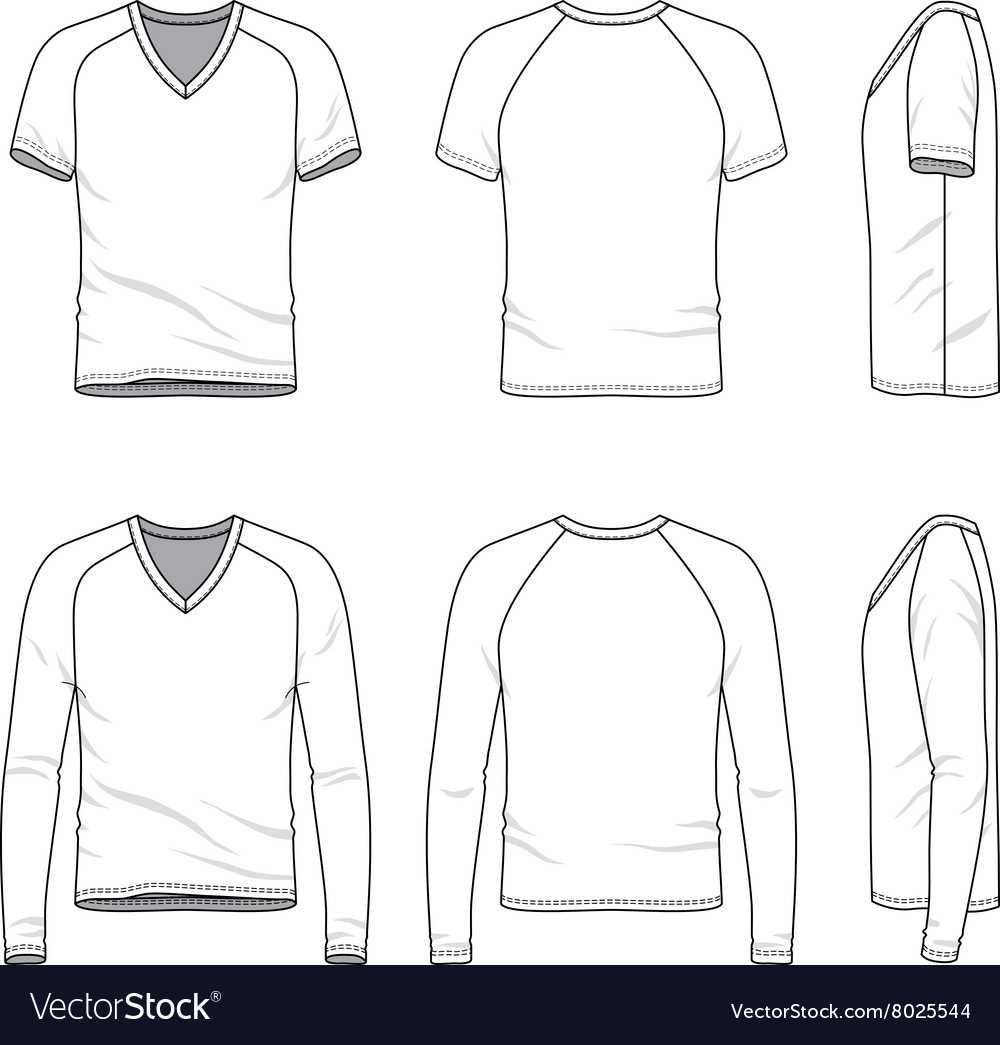 Blank V Neck T Shirt And Tee For Blank V Neck T Shirt Template