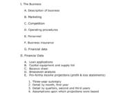 Business Plan Pinyolanda P On Template Simple Templates inside Business Plan Template Free Word Document