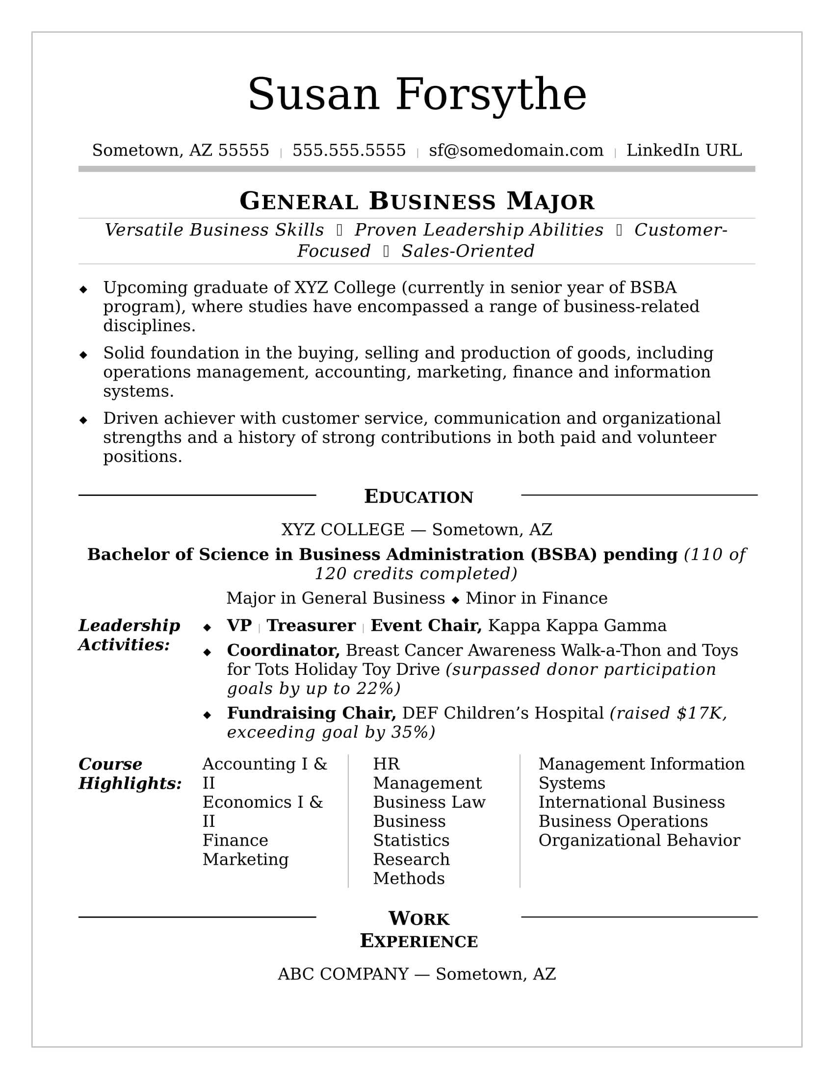 College Resume | Monster Inside College Student Resume Template Microsoft Word