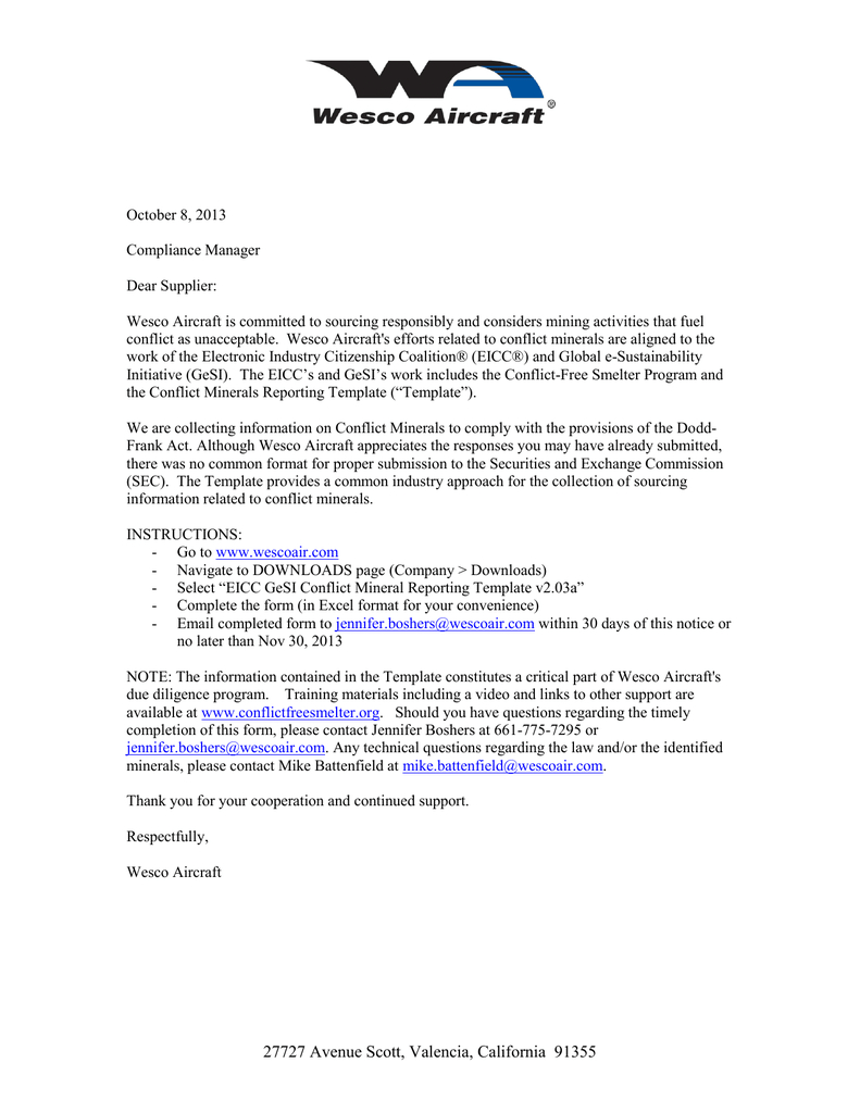 Eicc Gesi Conflict Mineral Reporting Notice Oct 2013 | Manualzz With Eicc Conflict Minerals Reporting Template