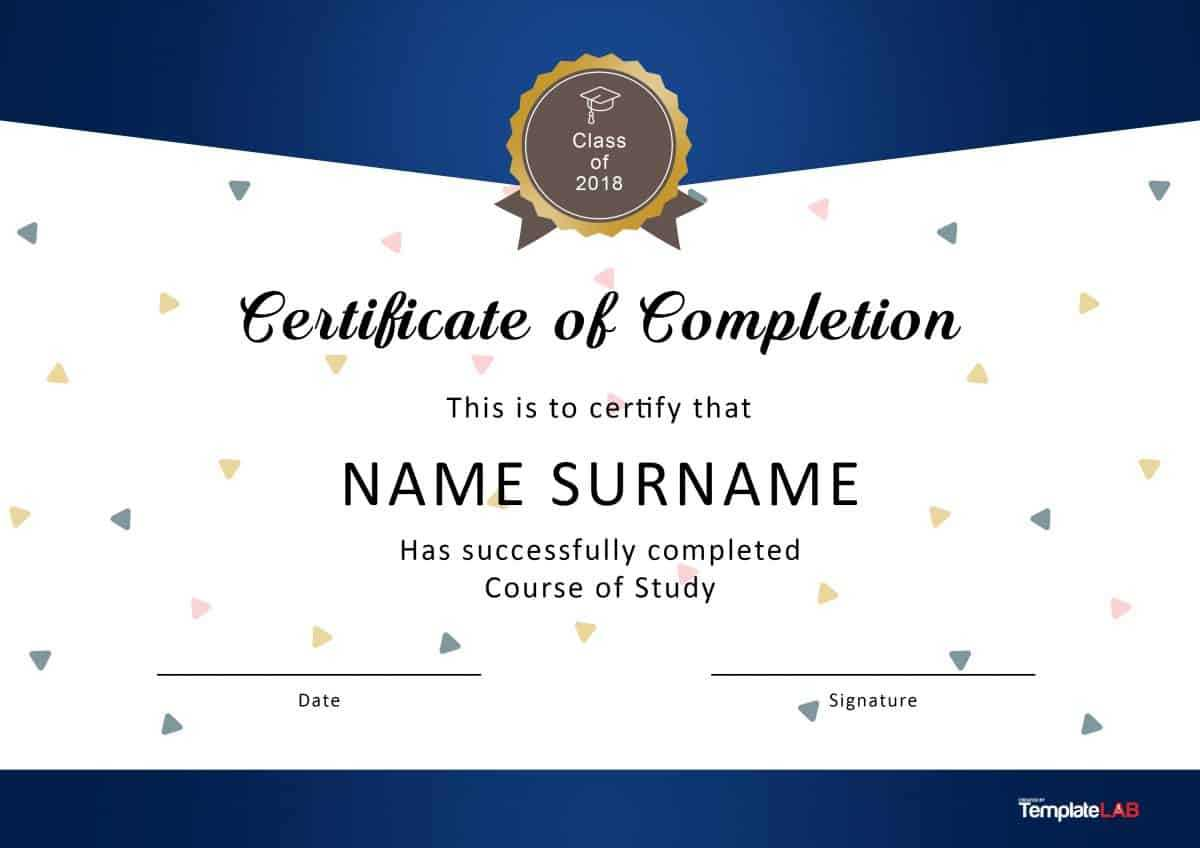 Free Downloadable Certificate Template - Dalep.midnightpig.co With Blank Certificate Templates Free Download