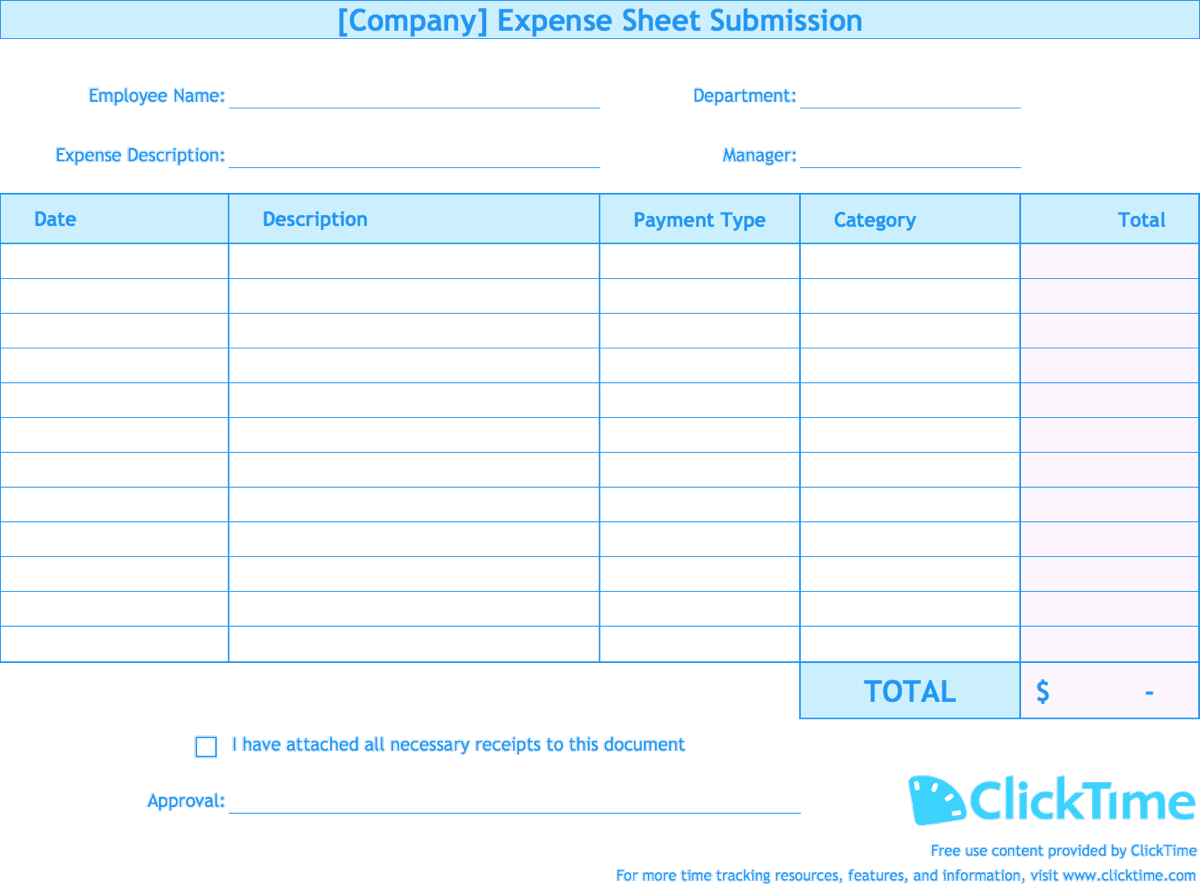 Free Excel Expense Report Templates – Dalep.midnightpig.co Pertaining To Quarterly Expense Report Template