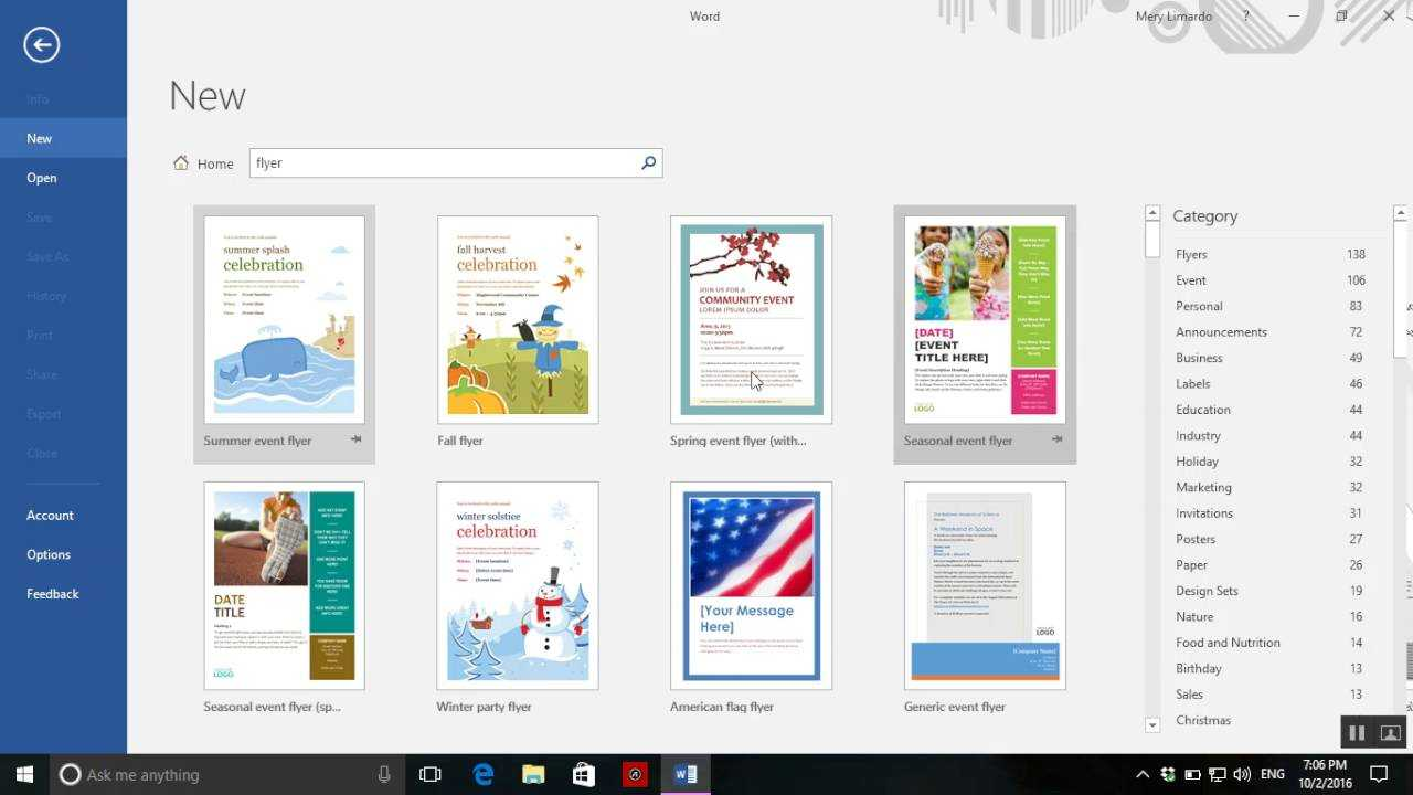 How To Create A Flyer In Word – Dalep.midnightpig.co In Templates For Flyers In Word