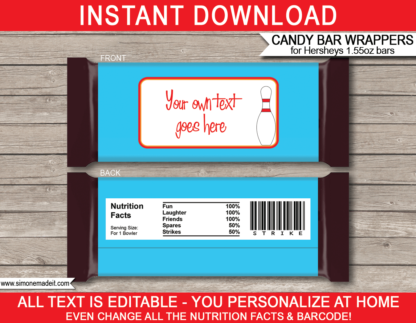 Personalized Candy Bar Wrappers Template Free - Calep Intended For Candy Bar Wrapper Template Microsoft Word