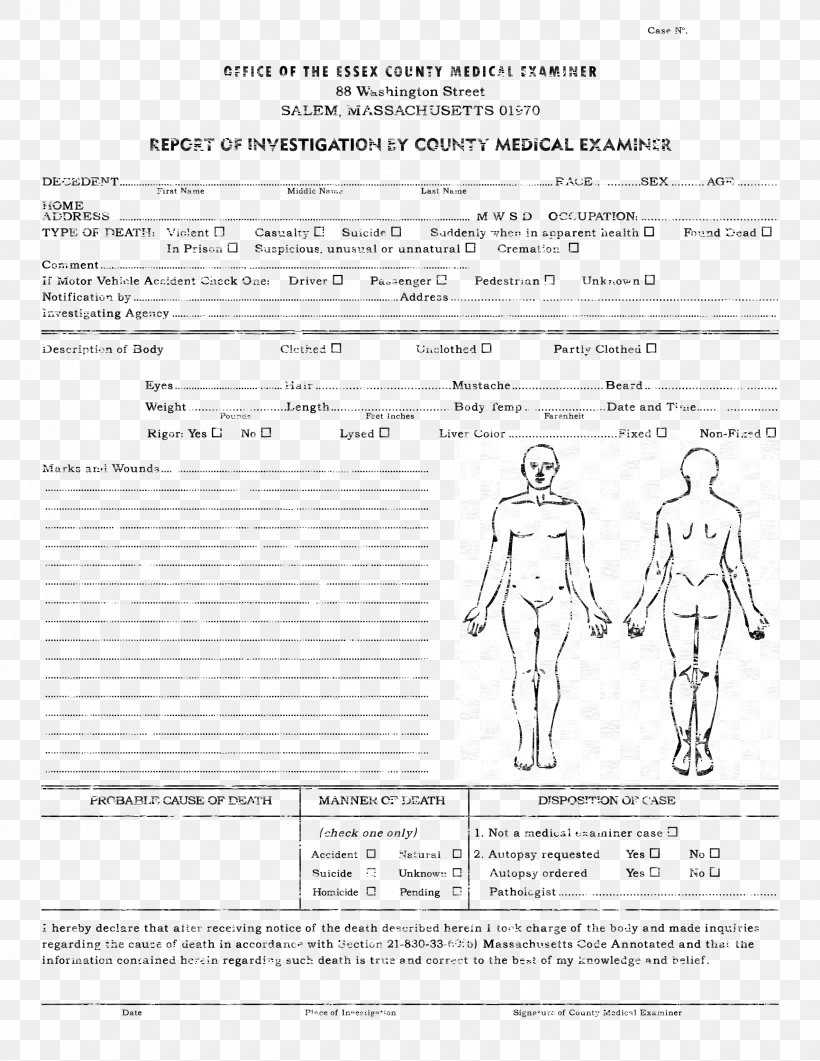 Template Autopsy Microsoft Word Report Résumé, Png With Autopsy Report Template