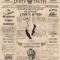 The Vintage Newspaper Layout Template For Old Newspaper Template Word Free